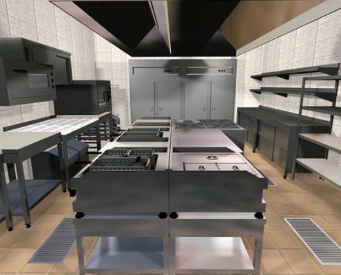 Otel Endüstriyel Mutfak Projeleri