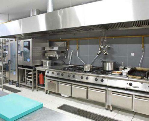 Otel Endüstriyel Mutfak Projeleri Örnekleri