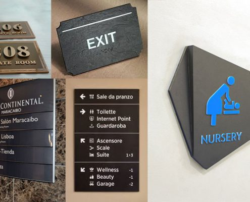 Hotel Sign Systems