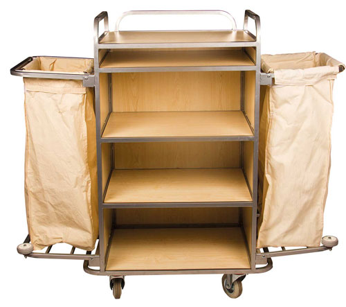 KTA 002 Housekeeping Cart Two Bag