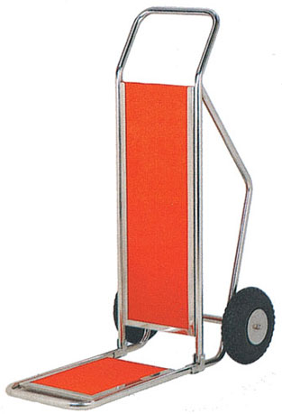 KTA 006 Hotel Baggage Trolley Stainless