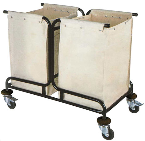 KTA 012 2 Bag Laundry Cart