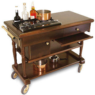 RST 001 Flambe Trolley