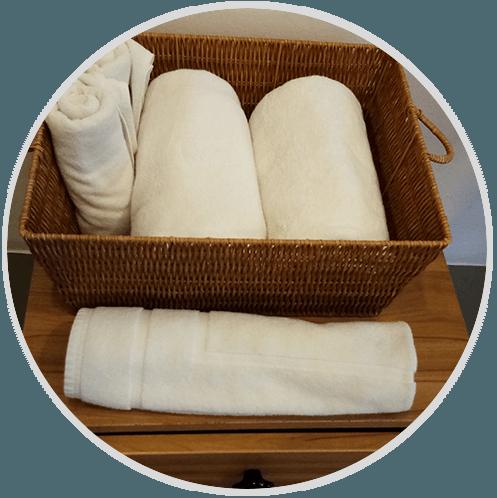 Textile Hotel Bathroom