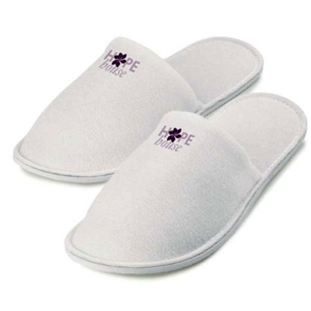 TRK 006 Luxury Towel Slipper Embroidered
