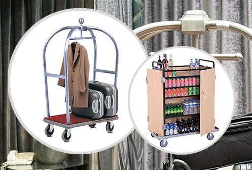 Oteliniz için Optimum Özellikte Otel Kat Arabaları