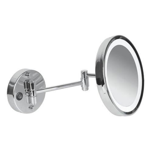 Ledli Mafsallı Makyaj Aynası