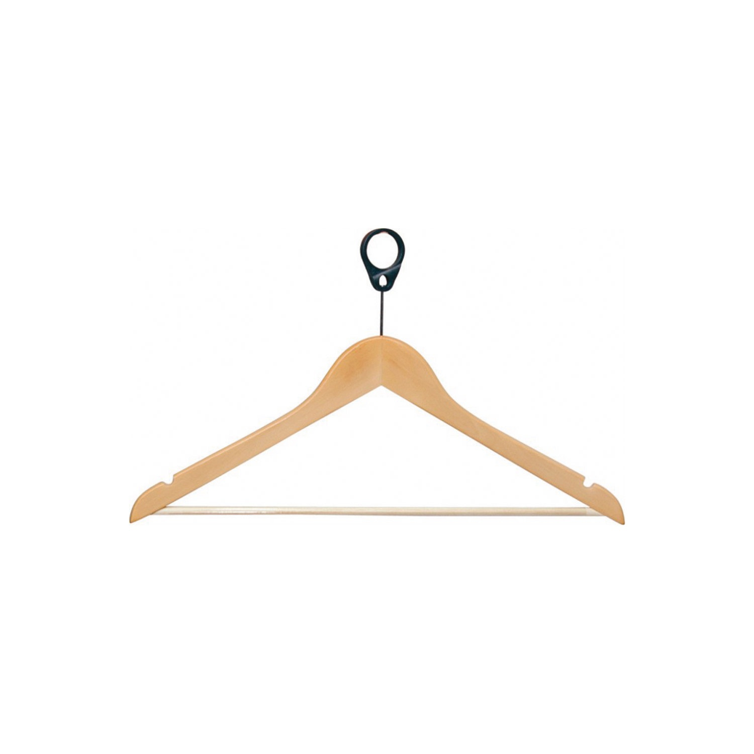 PL Printed Wooden Clothes Hanger