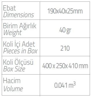 PL Printed Dental Kit Long Brush