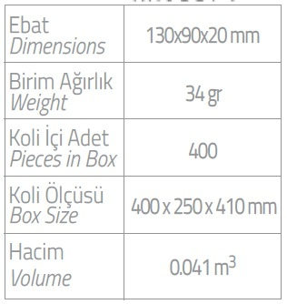 PL Printed Hygienic Sachet Cartridge x 20