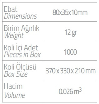 Pl Printed Plastic Sewing Kit Box