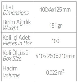 dispenser 250ml ikili dispenser ebatlar