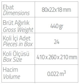 dispenser 400ml kartuş vücut losyonu ebatlar