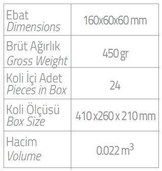 dispenser olive 400 ml kartuş duş jeli ebatlar