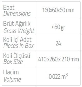 dispenser olive 400 ml kartuş vücut losyonu ebatlar