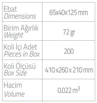 dispenser olive 400 ml tekli dispenser ebatlar