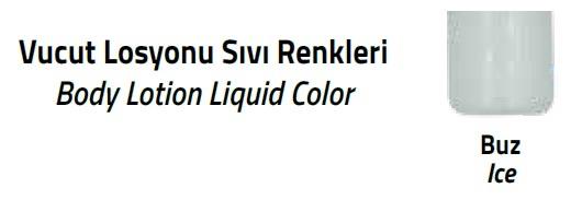 vücut losyonu sıvı renkleri